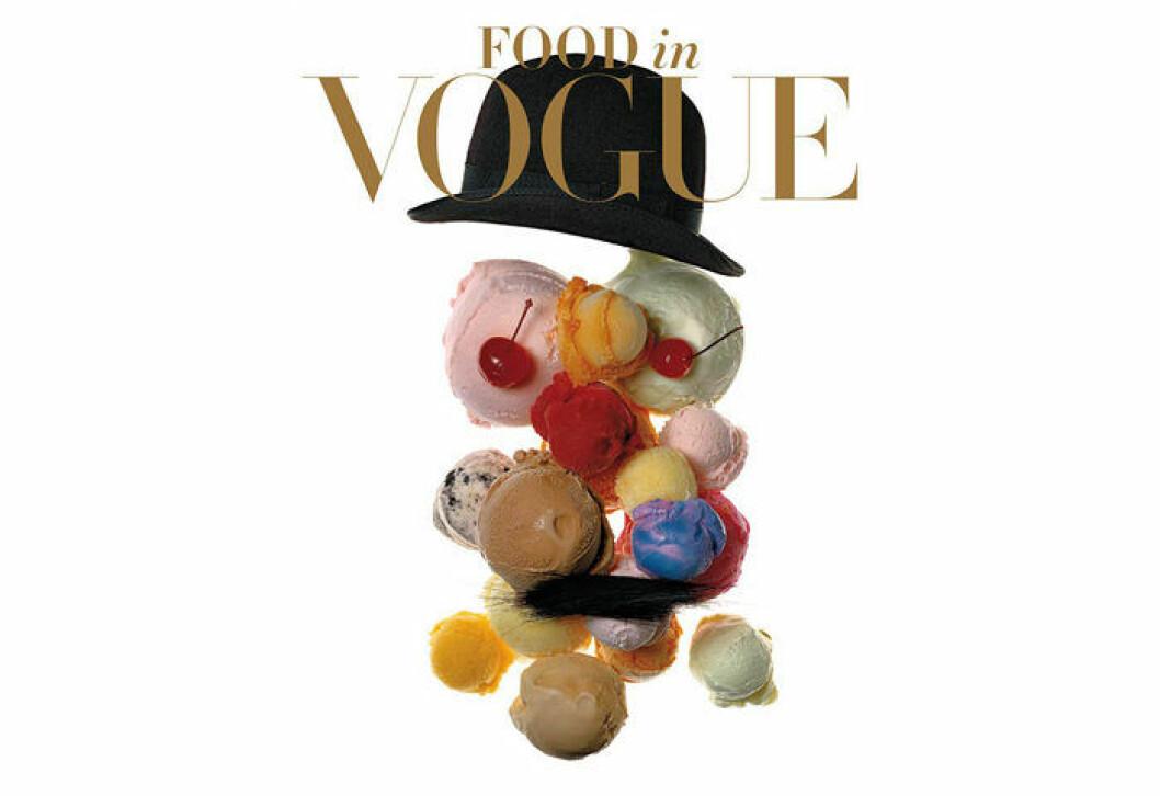 Coffee table-boken Food in Vogue