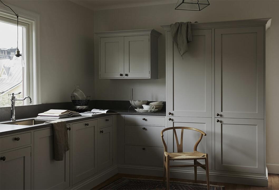 Cupboards & Goods shakerkök i grått