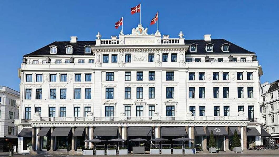 Köpenhamn hotell d'angelterre fasad