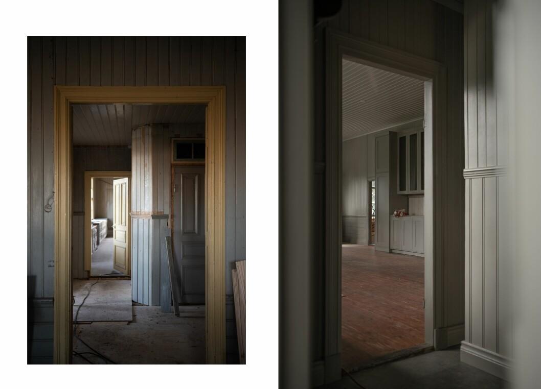 Daniel och Lovisa renoverar gammal skola från sekelskiftet.