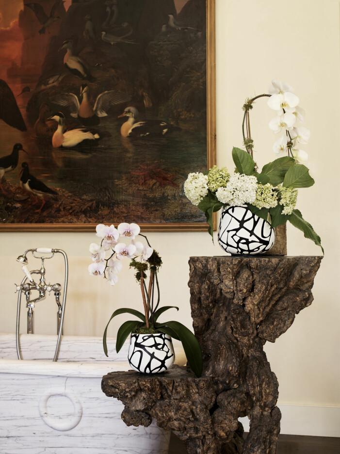 Diane von Furstenberg x H&M Home, grafiska krukor
