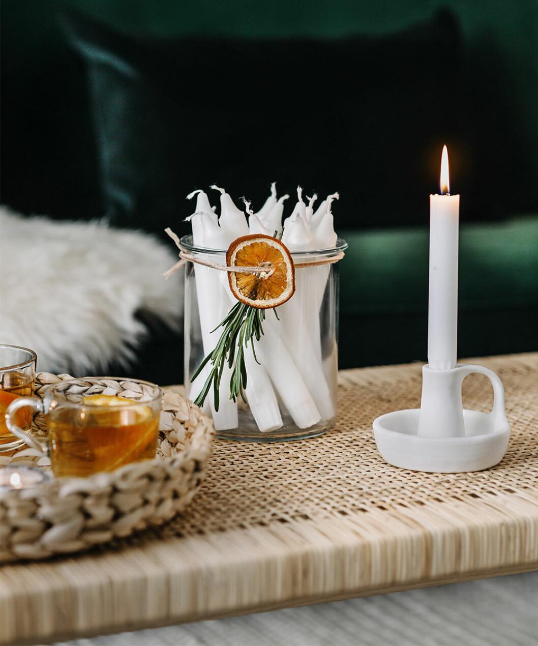 DIY-julpynt med torkad apelsin