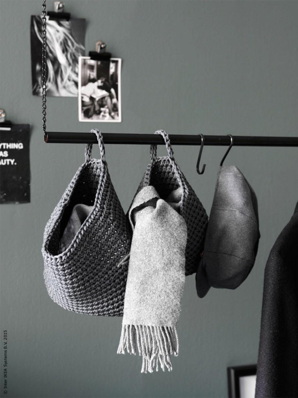 diy-projekt klädstång från ikea livet hemma