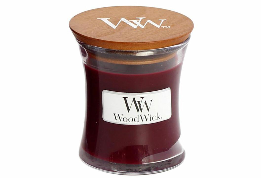 doftljus woodwick jul