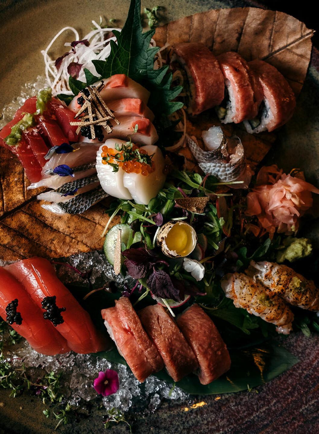 TAKO nyår sashimi