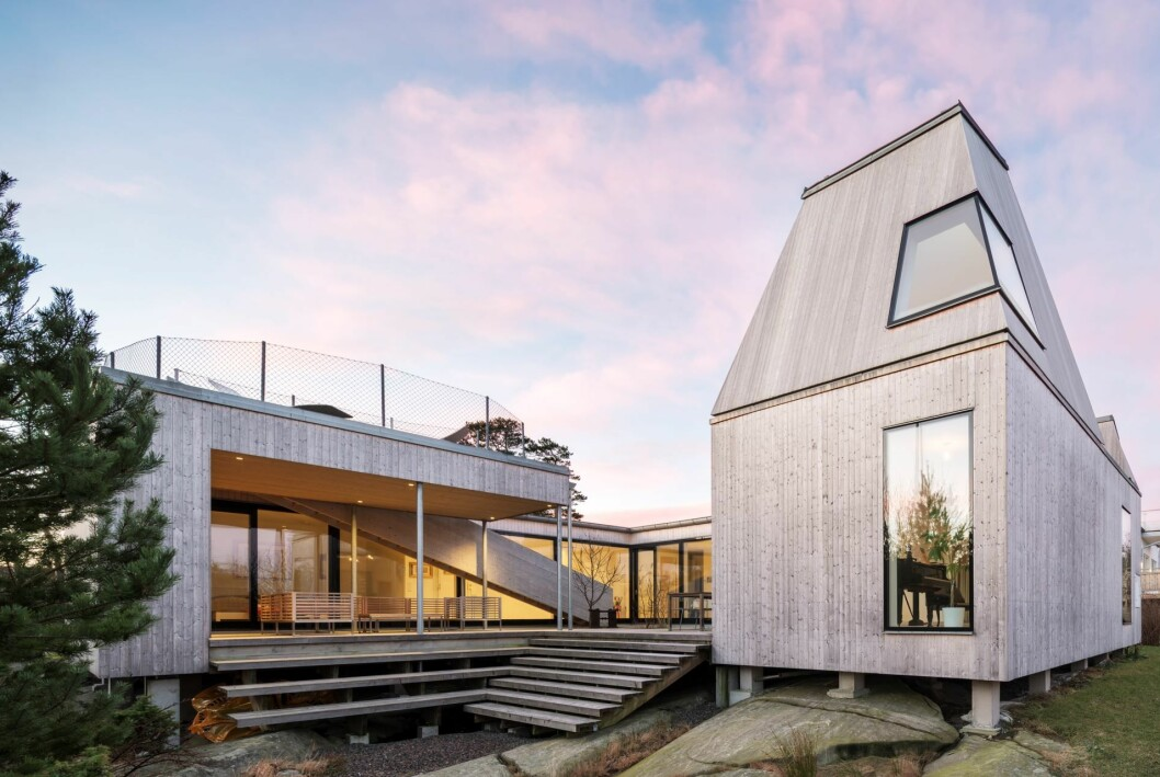 Villa Kristina utanför Göteborg är nu till salu– ritat av Gert Wingårdh