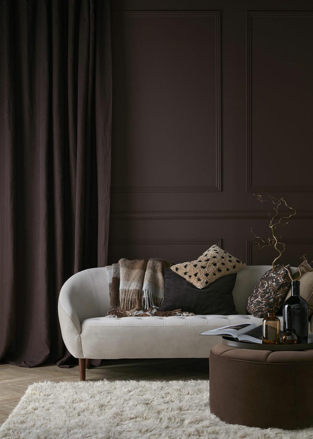 Soffa och textilier från Ellos Home höst 2020