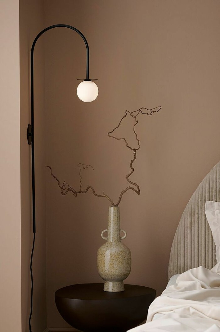 Herbstkollektion Ellos Home, Wandleuchte aus Metall