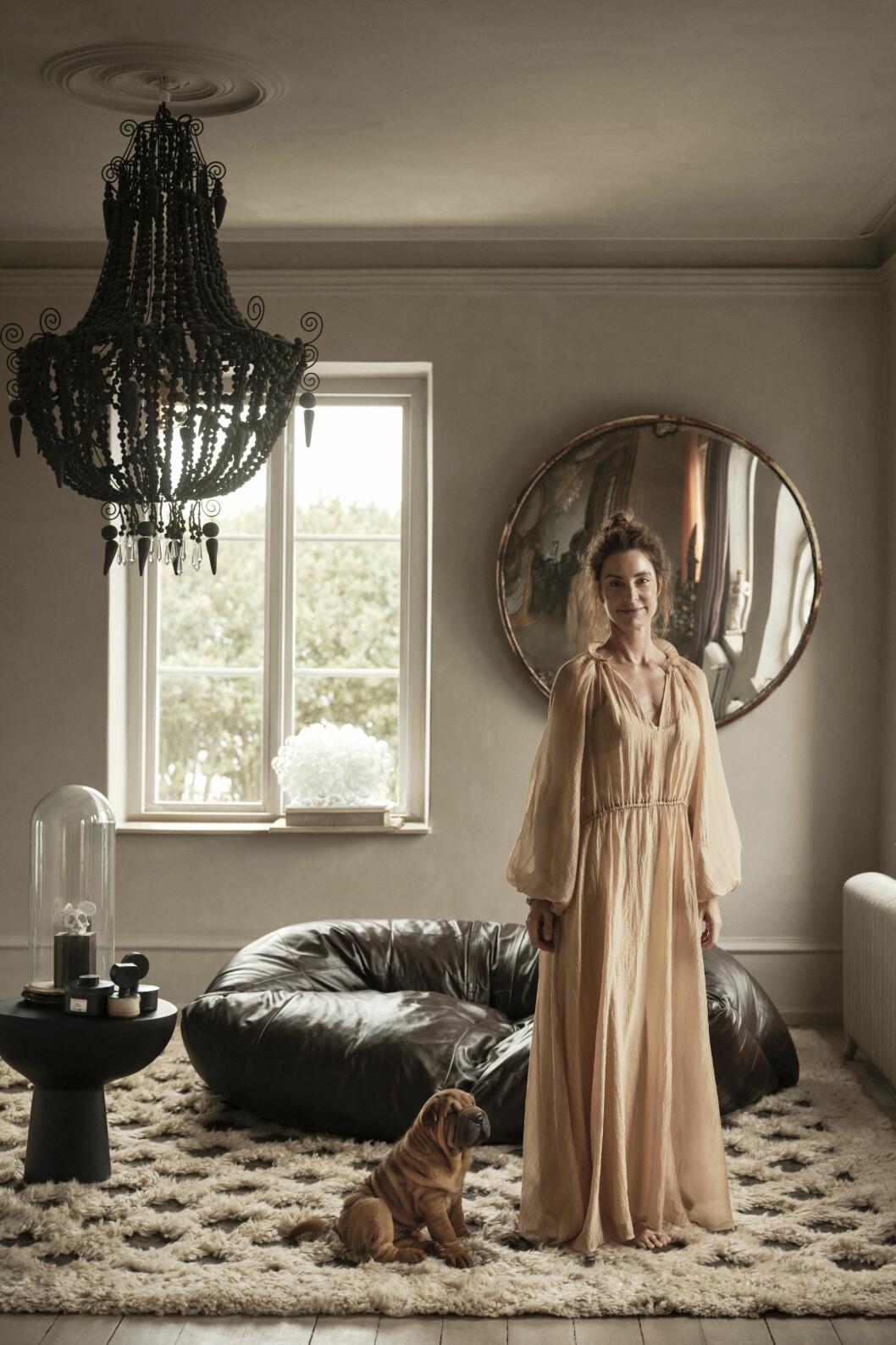 Marie Olsson Nylander selbst entworfene Teppiche für Ellos.