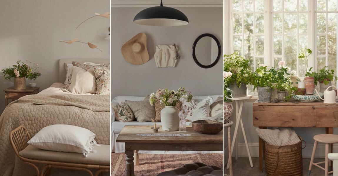 Elsa Billgrens sommarhus på Gotland, inredningsinspiration för sommarhuset