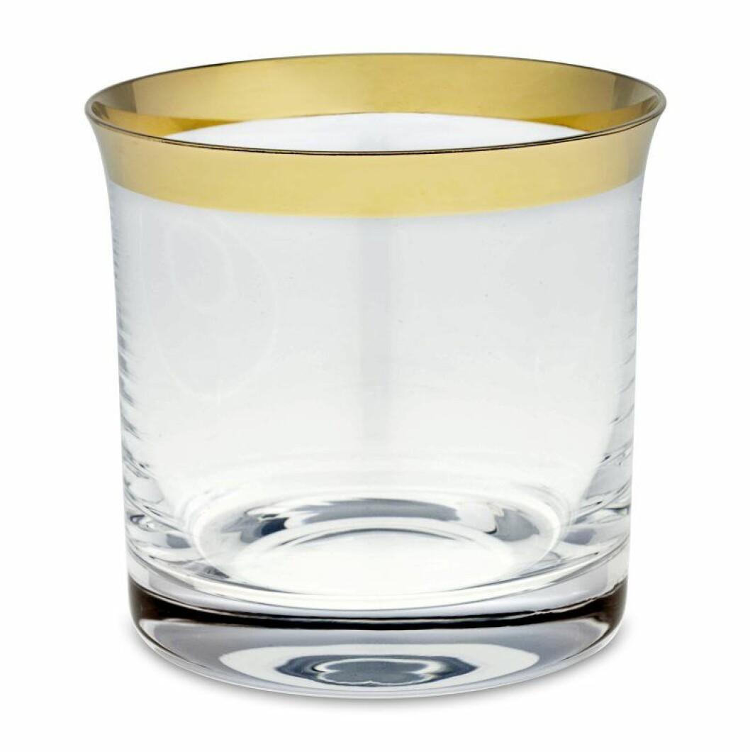 Vatten- eller whiskyglas, Svenskt tenn.