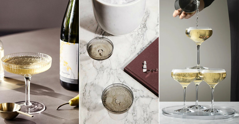 Fina champagneglas
