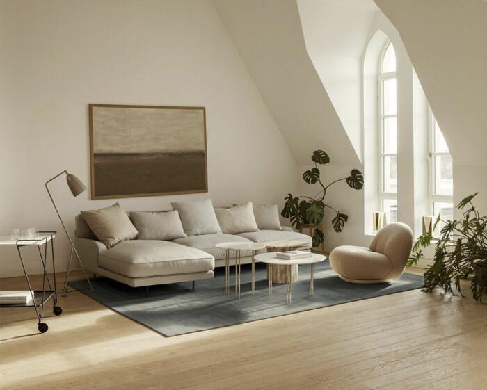 flaneur soffa från gubi