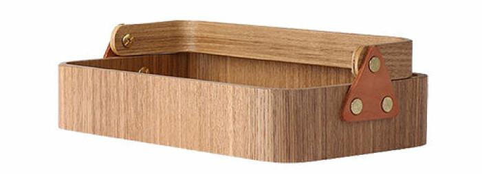 förvaringsbox i trä