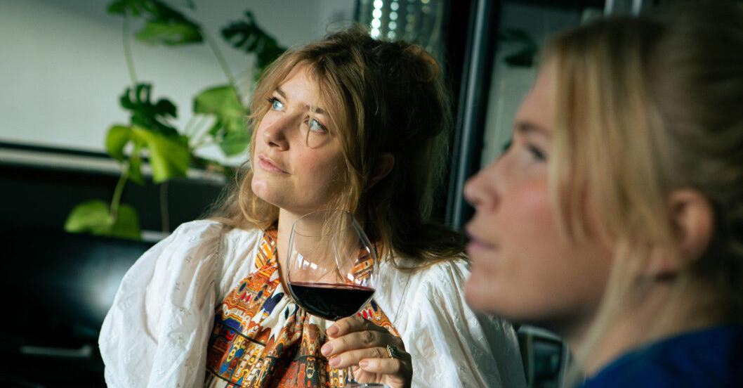 Frida Lund och Elsa Billgren