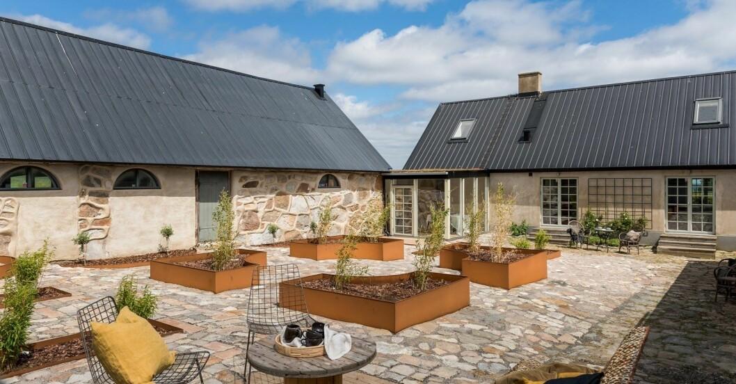 Arkitektritad innergård