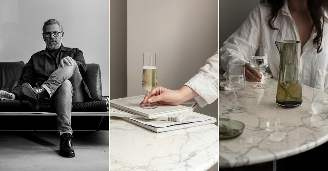 Vad utmärker ett bra vinglas? Det vet glasdesignern Björn Dahlström.
