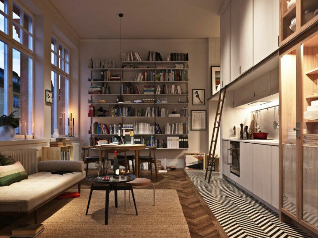 Glommen & Lindberg har i samarbete med den prisbelönte formgivaren Mats Theselius och arkitektbyrån Jägnefält Milton börjat omvandla Margaretaskolans anrika lokaler på Östermalm till moderna bostäder.