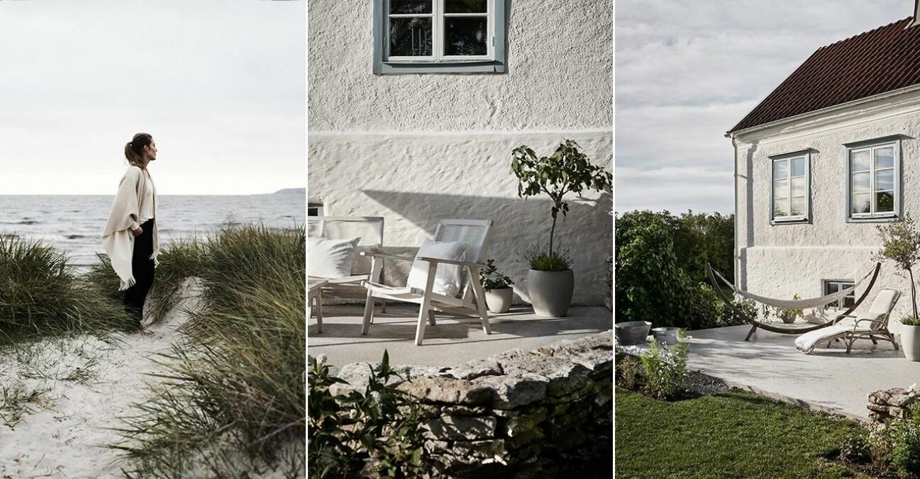 Linda och Martin flyttade tillbaka hem till Gotland.