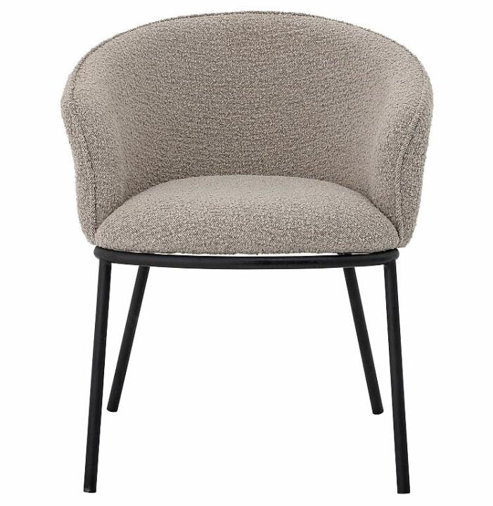 grå loungestol