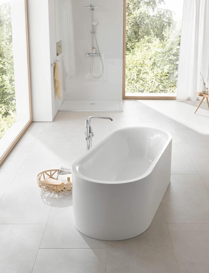 Så väljer du badkar utifrån din inredningsstil