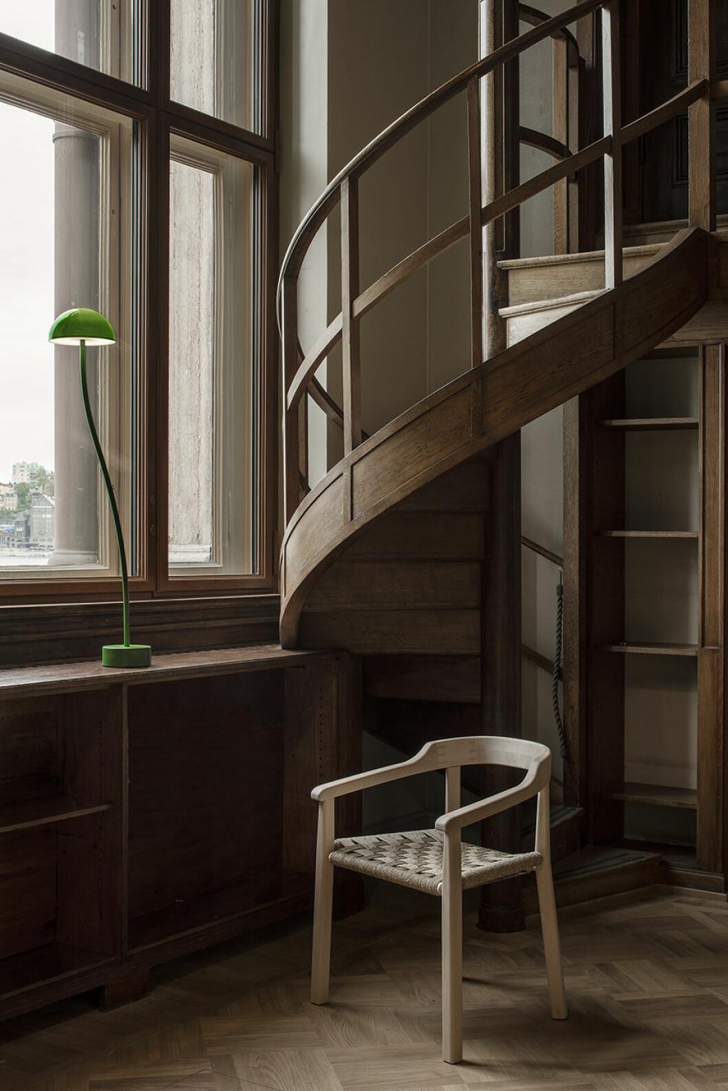 grön läslampa nationalmuseum biblioteket