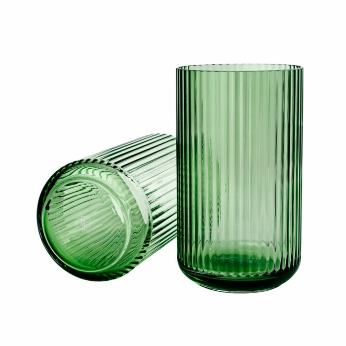 gerippte Vase