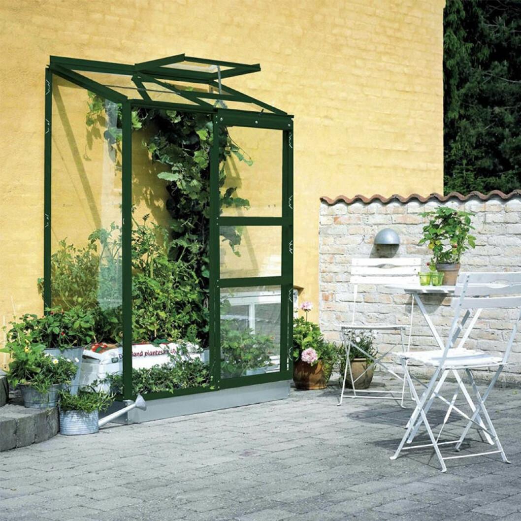 växthus för altan och uteplats från Halls