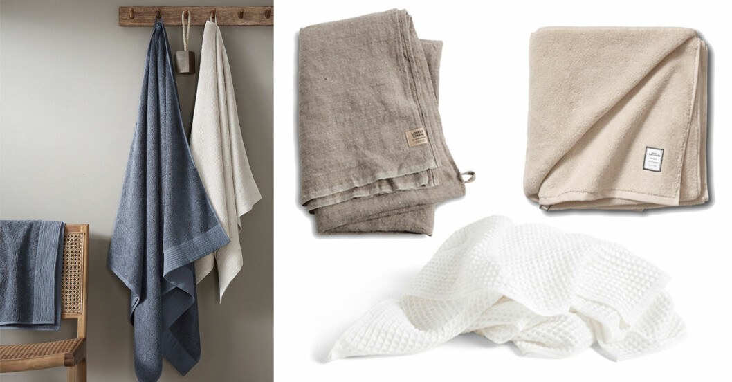 handdukar och badlakan
