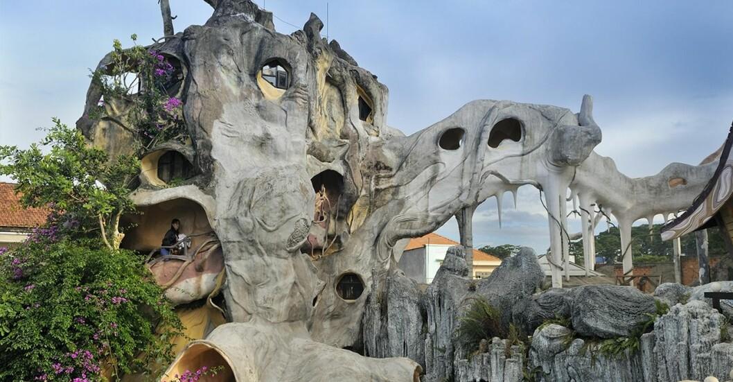 Hang Nga Guesthouse i Da Lat, Vietnam