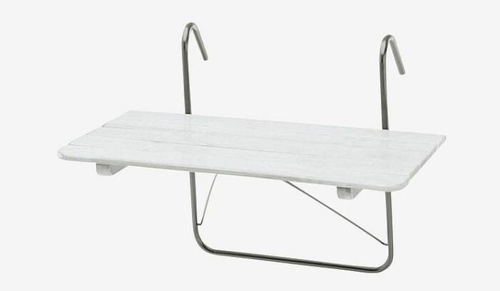 hängbart balkongbord