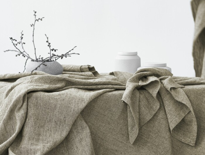 hedvig bordsduk från linum design