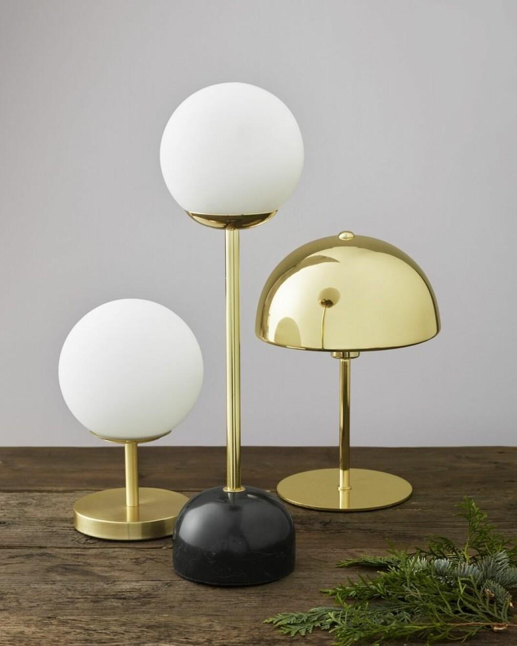 åhléns jul bordslampor