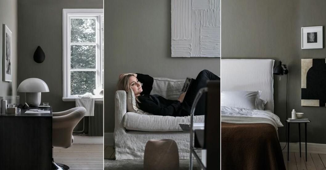 Hemma hos stylisten Elin Kickén