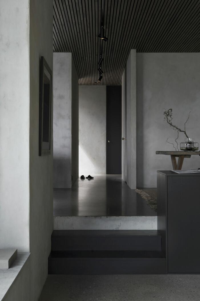 Inblick hemma hos grundarna av intressanta hus