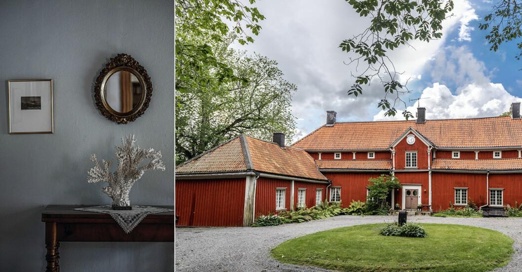 Herrgård i karolinsk stil i Borgvik Värmland