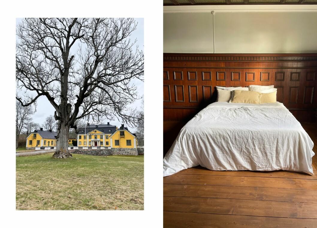 Herrgården Skebobruk byggdes av Jacob Grill år 1770.