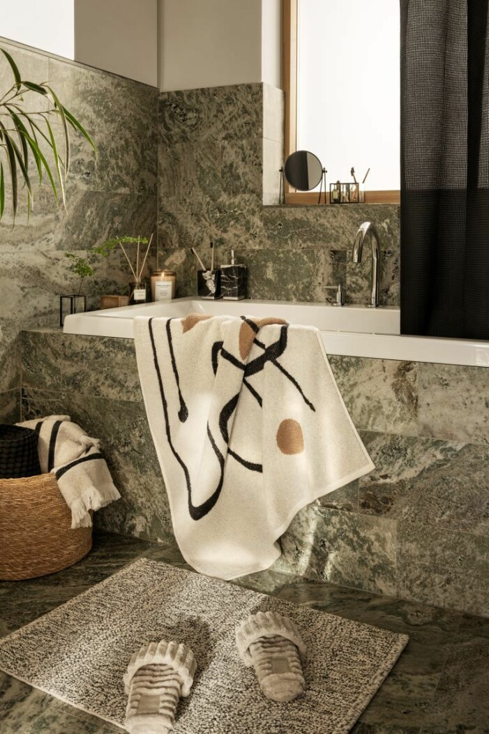 H&M Home höstkollektion, badhandduk