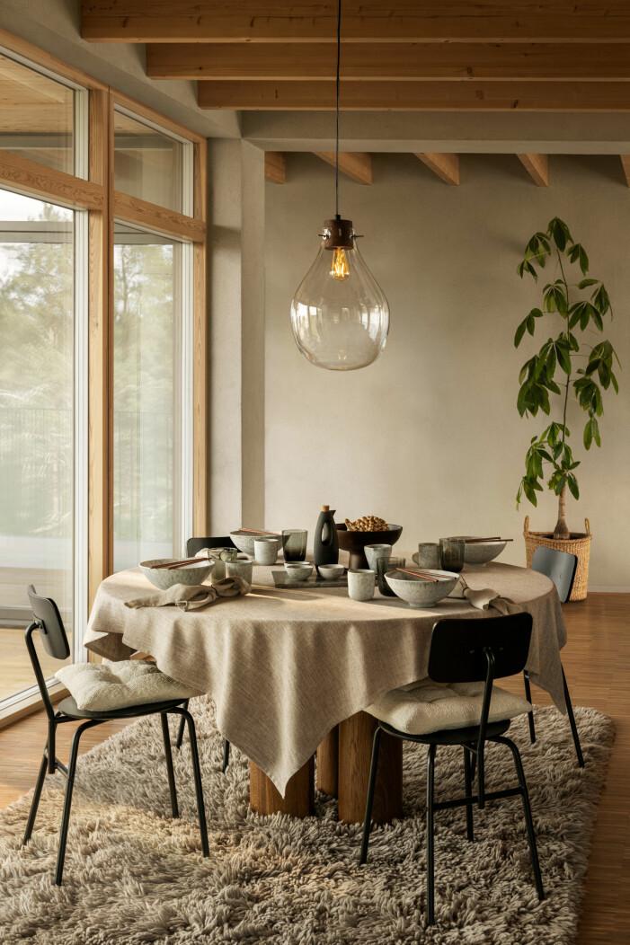 H&M Home höstnyheter 2021, jordnära textilier