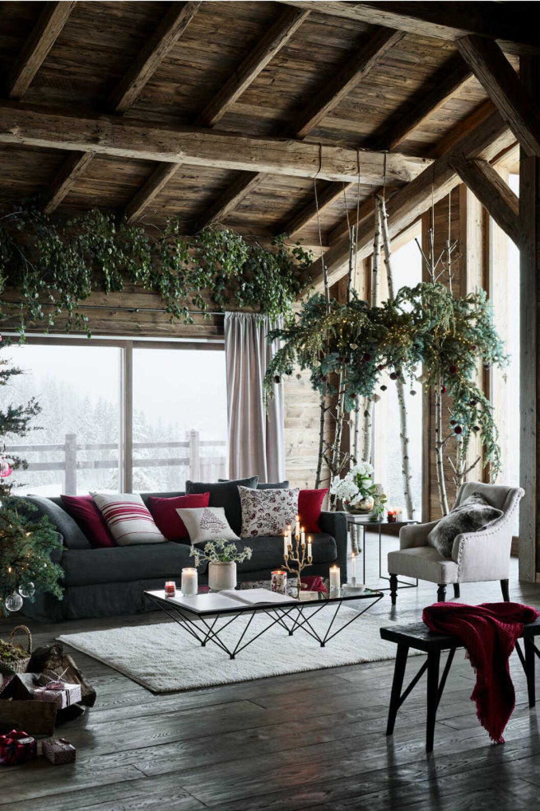 hm home jul vardagsrum