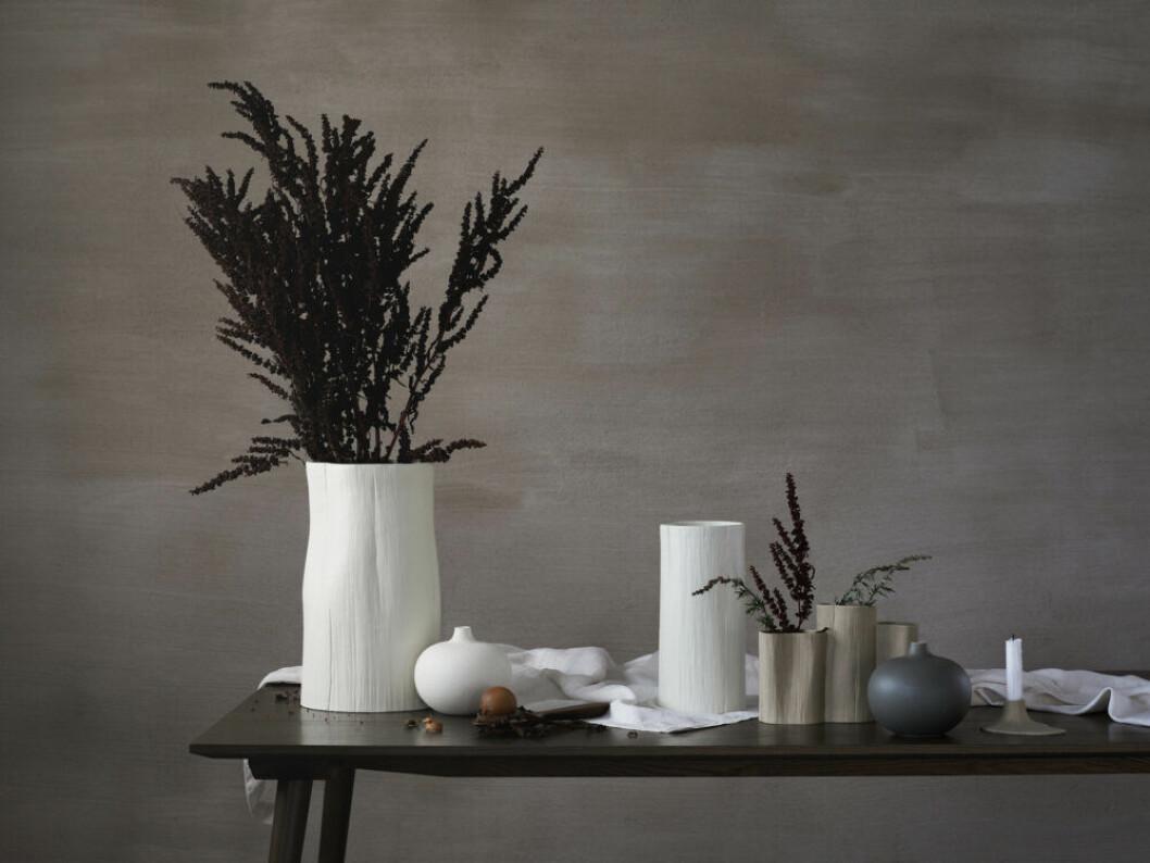 vaser av Lindform designad med Daniella Witte