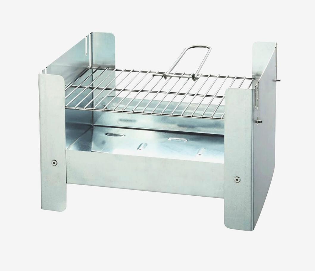 Hopfällbar, billig bärbar grill från Emerio
