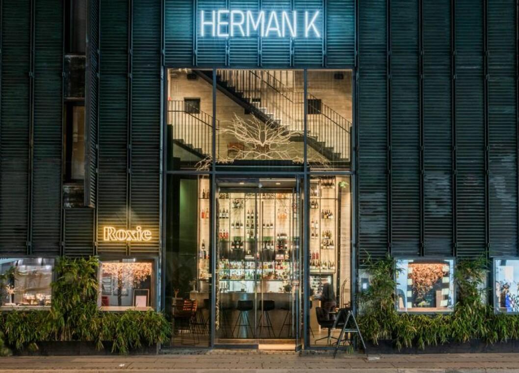 Köpenhamn hotell herman k fasad