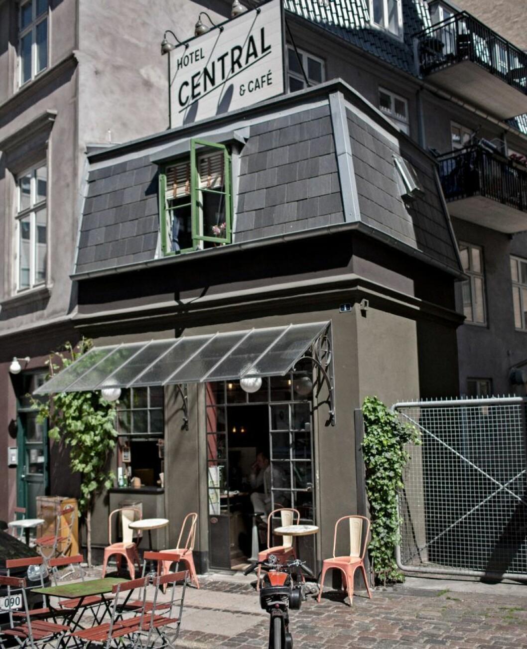 Hotell Central och cafe köpenhamn exterior