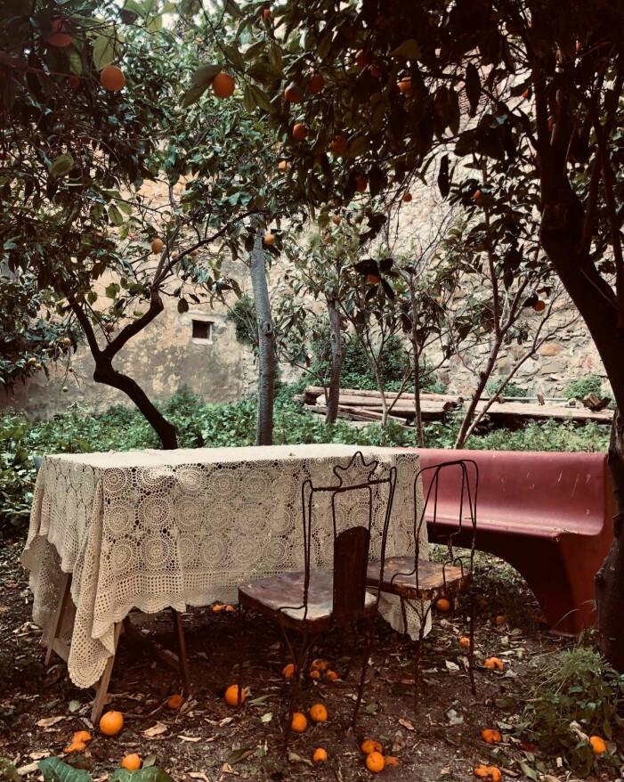 Husdrömmar Sicilien säsong två, trädgården