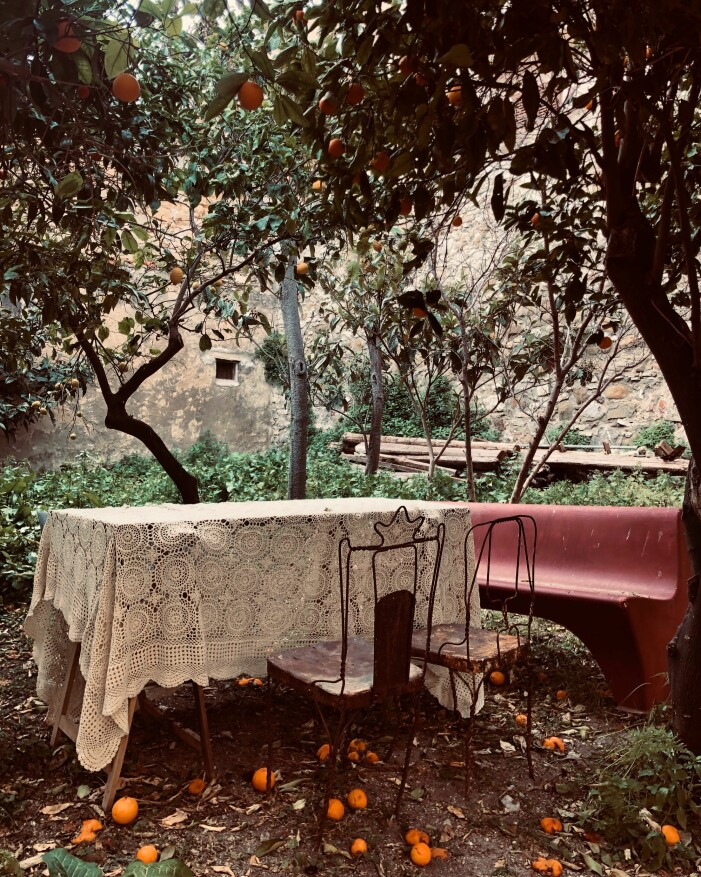 Trädgården från Husdrömmar Sicilien