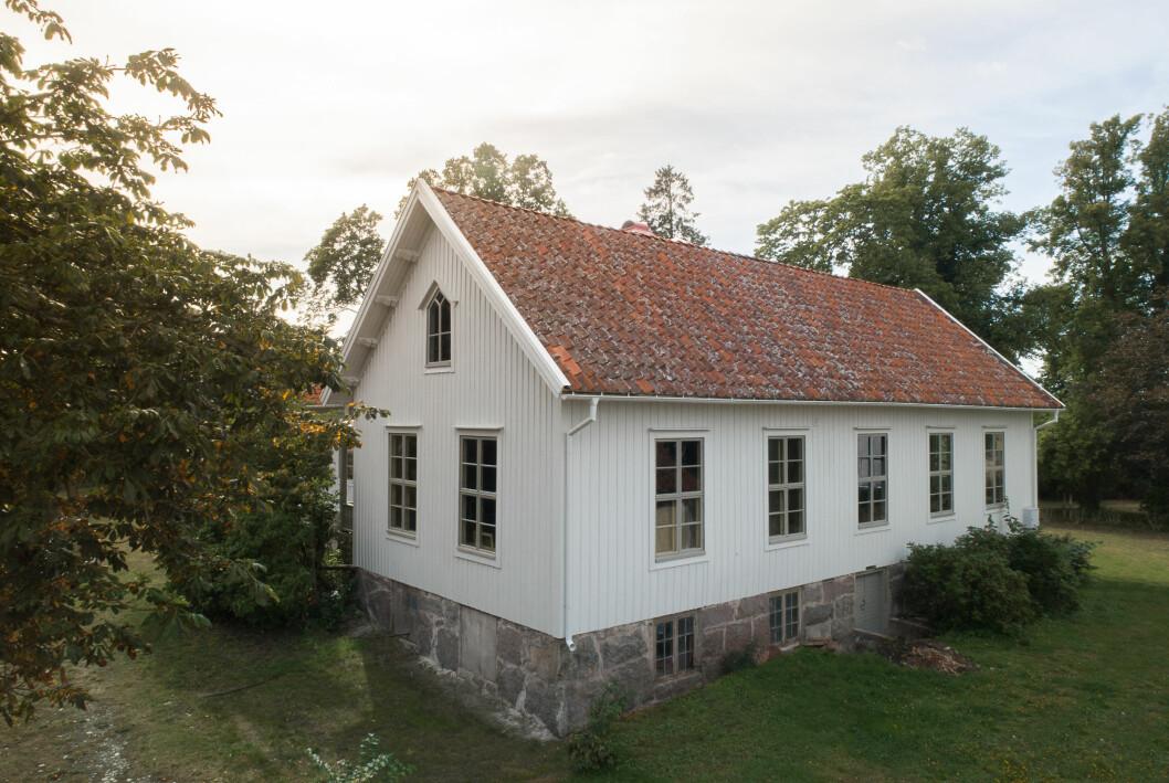 Huset efter renovering.