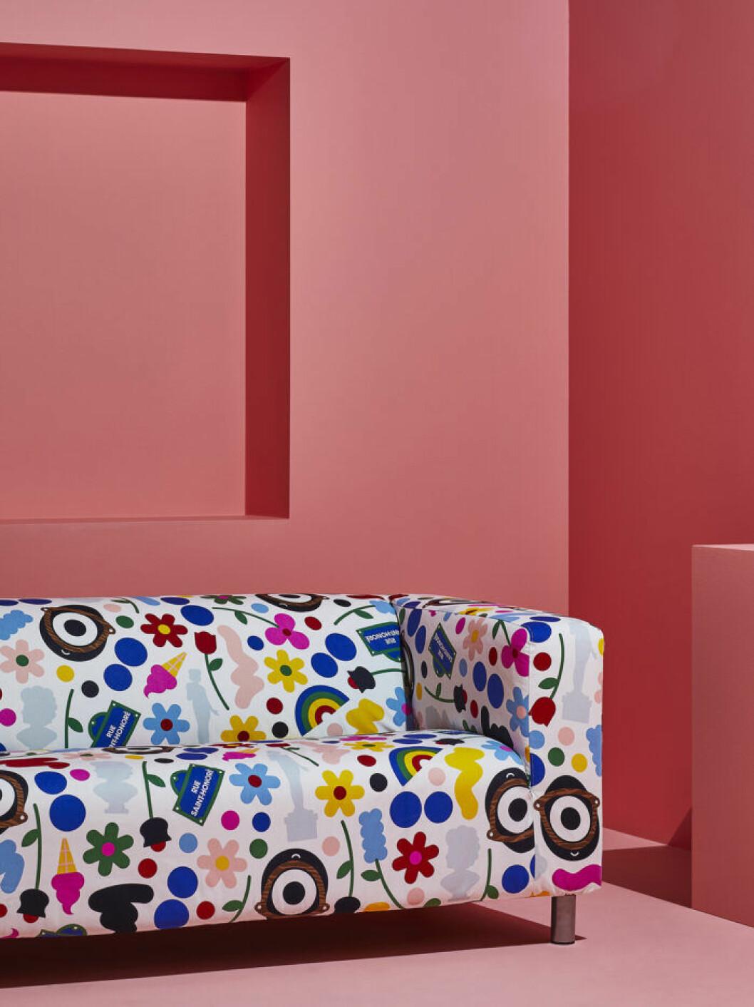 Soffklädsel till Klippan från Ikea Förnyad