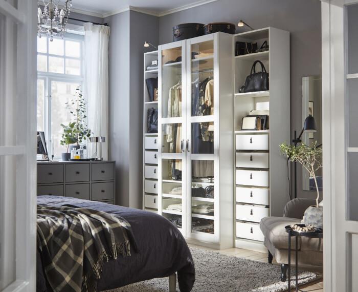 Pax garderob från Ikea