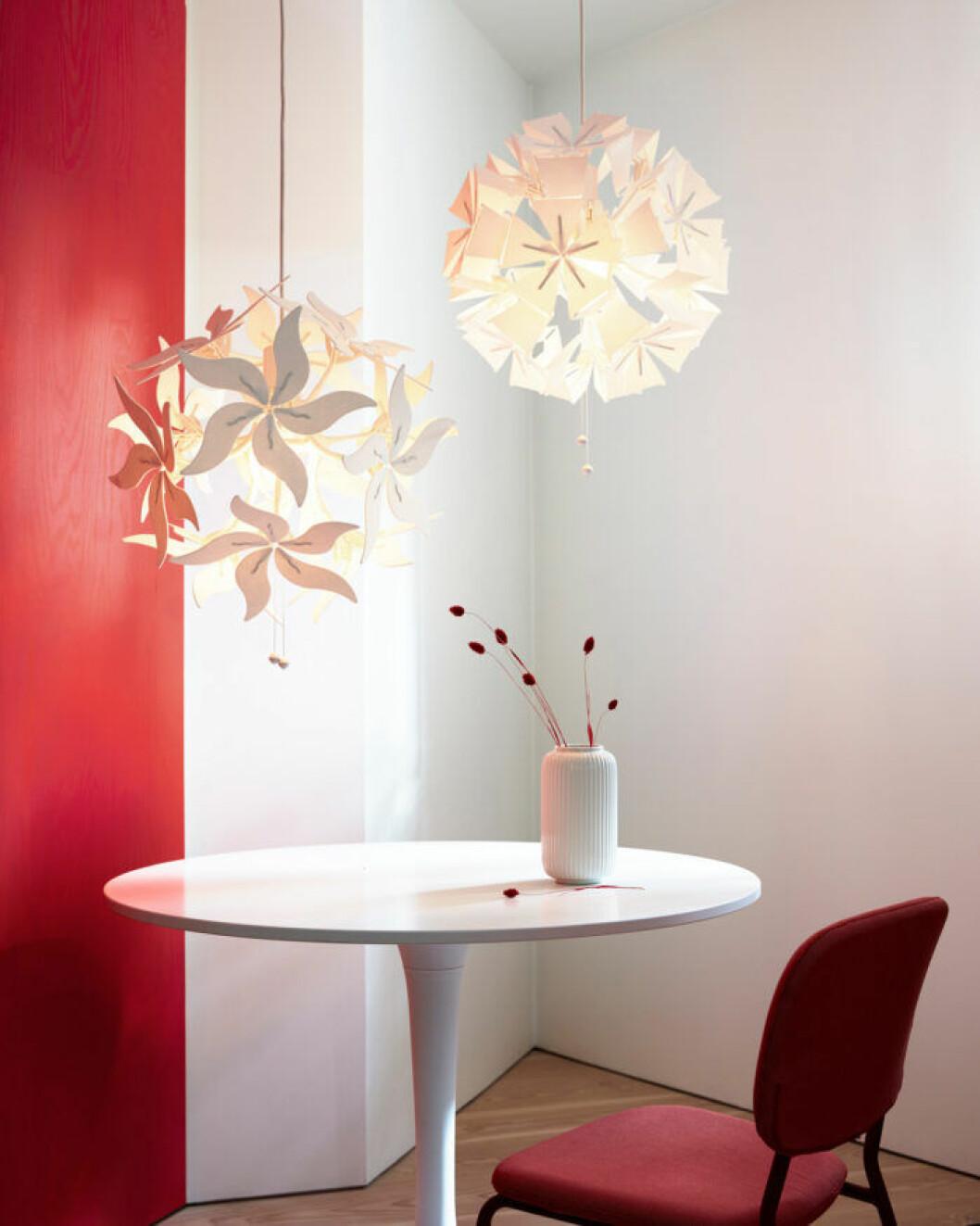 Ikea ramsele taklampa